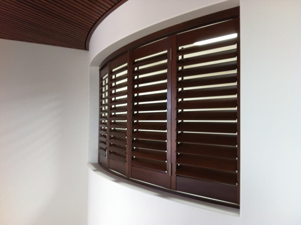 Custom Stained Shutters