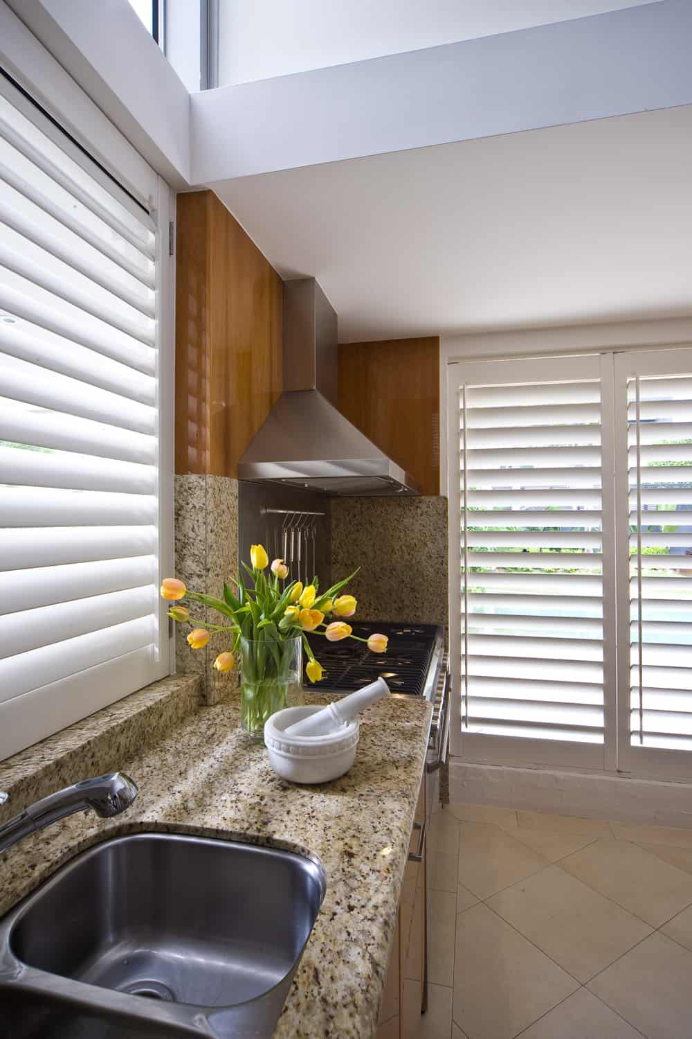 Kitchen Timber Shutters