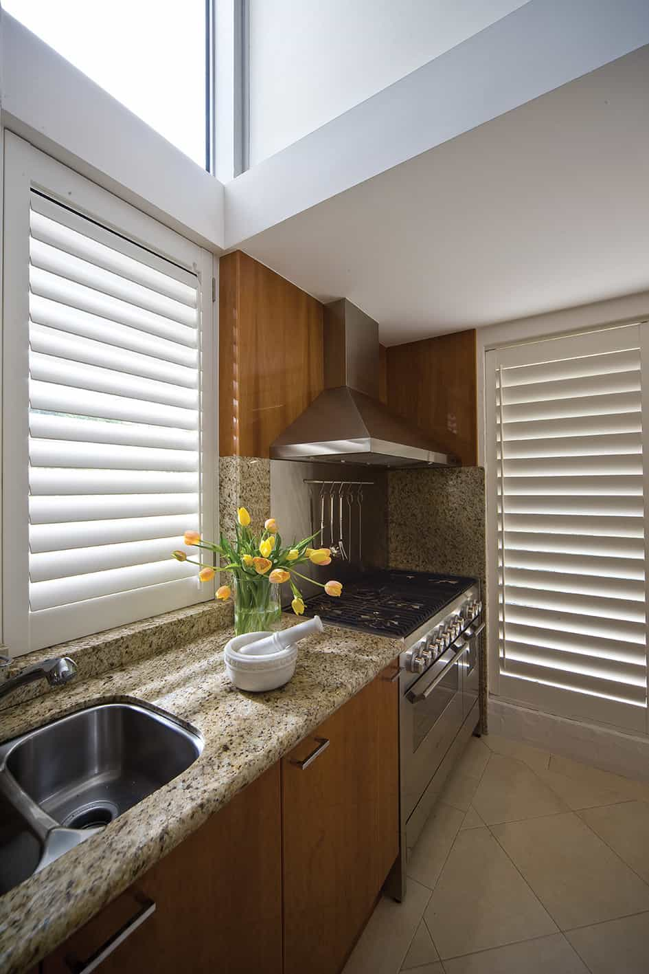 PVC Shutters Kitchen
