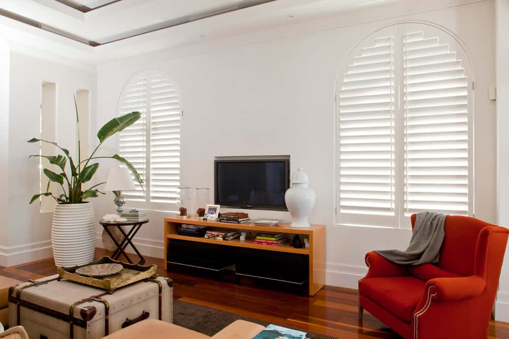 Curved Window Shutters